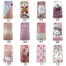 Wholesale Hello Kitty angry birds yakeli the little white rabbit cartoon TPU mobile phone cases for the iphone s SE iphone6 s Plus