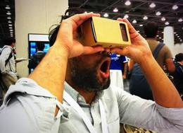 3D VR Glasses Virtual Reality Box VR Box Cardboard Experience DIY Kit