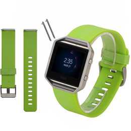 Classic Silicone Sport Running Band for Fitbit Blaze Watch Band Accessories Bracelet Strap Watch Band Replacement DHL Free OTH233
