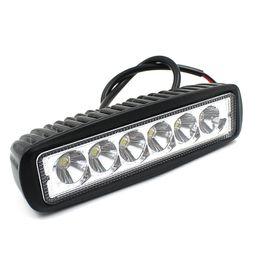 LEEWA V1NF 6Inch 18W 6LEDs Work Light Bar Spot Driving Lights Offroad Fog 4WD Motorcycle SKU:1639