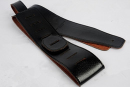 Wholesale Black guitar strap FOR Acoustic guitar electric guitar electric bass strap guitar parts musical instruments accessories
