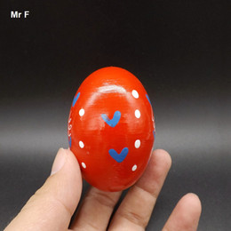 Wood Sand Eggs Children Musical Instrument Percussion Musical Instrument Toy Baby Kids Gifts