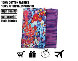 Wholesale fabric vb cotton cloth cotton fabrics textile fabrics Chrysanthemum pattern Can be used to make clothing Professional retail