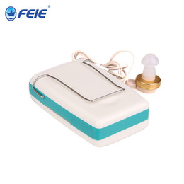 Wholesale Body worn hearing aid high power audifonos para sordos de caja feie hearing aide S B