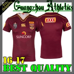 Wholesale Best quality Queensland Maroons Canterbury State Of Origin Shirt