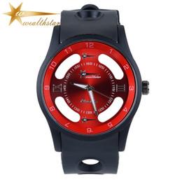 top relogio wealthstar luxury men sports brand Hollow dial watches fashion casual wristwatches men women dress quartz watches Lovers watches