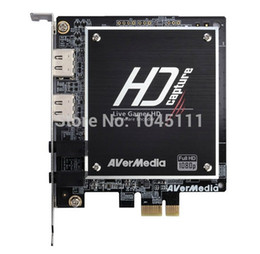 Wholesale New PCI Express PCI E Live Gamer HD C985 Audio Video Capture Card P PS3 PS4 XBOX HDMI