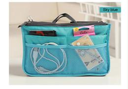 Multifunctional 9 Color high quality cosmetic bag makeup bag organizer bag Casual travel bag Storage box