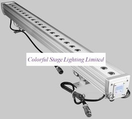 Free shipping High quality 24x3W RGB Tri color 3in1 LED Wall Washer Light, Tri LED Bar Light
