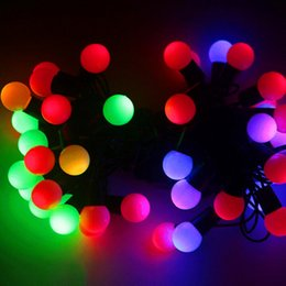 Color Changing Christmas Lights Outdoors: 7m Christmas lights outdoor wedding decoration color changing Fairy LED  ball Garland string lights lighting new,Lighting