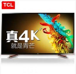 2016 tv lcd 55 TCL 55 pouces ultra-haute définition 4K Andrews intelligent LED LCD TV à écran plat double système WeChat Internet TV Livraison gratuite! promotion tv lcd 55