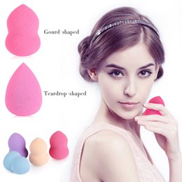 Wholesale 50 Foundation Sponge Blender Blending Facial Makeup Sponge Cosmetic Puff Flawless Beauty Powder Puff Make Up Sponge YZ