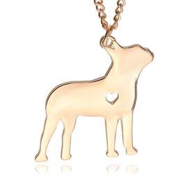 2017 американские собаки 2016 Американский Старлинг собака кулон серебряное ожерелье Малые Ожерелья Подвески Женщины горячее продавая Handmade животных Фабрика ZJ-0903633 американские собаки клиренс