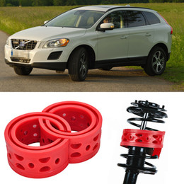 2pcs Super Power Rear Auto Shock Spring Bumper Power Cushion Buffer Special For Volvo XC60 Free shipping