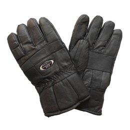 Air en cuir libre à vendre-Homme CashmereGloves hiver et gants en cuir pour motocyclisme 2016 Gants étrangers à la fourrure en plein air Livraison gratuite