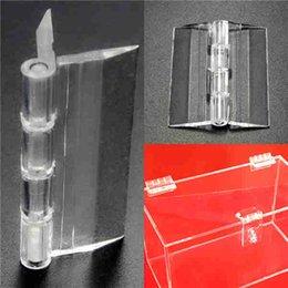 Wholesale Excellent Quality x38mm Door Window Clear PMMA Acrylic Folding Hinge Plexiglass Hinge