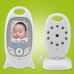 Wholesale Wireless Video inch Color Baby Monitor Security Camera Way Talk NightVision IR LED Temperature Monitoring with Lullaby