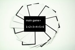 Wholesale party game for people Games US Basic Edition and expansion cards mixed orders in stocks