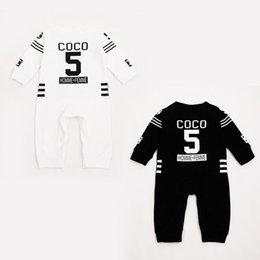 Wholesale 2016 Infant Girls Boys Long Sleeve Rompers Perfume No Cotton Cute One Piece Rompers Newborn Baby Bodysuits Kids Daily Romper