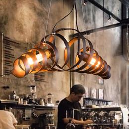 Wholesale Retro vintage Industrial Loft store RH america pendant lights lighting lamps restaurant Bar restaurant home decoration