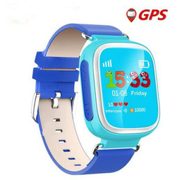 Wholesale 2016 Kid GPS Smart Watch Wristwatch SOS Call Location Device Tracker for Kid Safe Anti Lost Monitor Baby Gift Q80 PK Q50 Q60