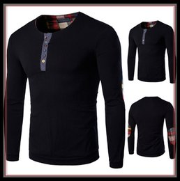 Wholesale US Size XS XL Men s T shirt cloth new high quality abb long sleeve T shirt in Europe and the large size T shirt