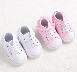 Wholesale Beautiful lace spring autumn baby toddler shoes new BB lace casual shoes children shoes soft bottom pair B