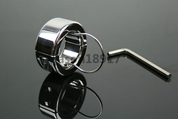 Wholesale g weight Stainless Steel Ball Stretchers Cock Ring penis ring delay sex F53 FS10016