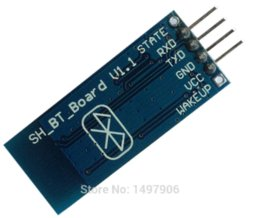 Wholesale HC Bluetooth serial pass through module wireless serial communication from machine Wireless HC06 for arduino Bluetooth Module