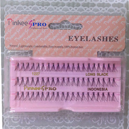 Growing exports PINKEES PRO plant three rows of 60 lashes thin handmade professional eyelash grafting 1225,1226, Natural Eyelashes