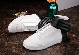 Wholesale Free shipp Hot sale kinds luxury brand Maison Martin Margiela MMM Horse hair and Light skin high top shoes men and women s fashion sneakers