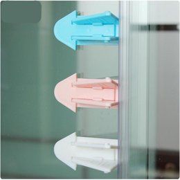 Wholesale Protecting Baby Child Toddler Safety Security Lock Latch Door Stopper Limiter for Safe Sliding prevent the baby open the window