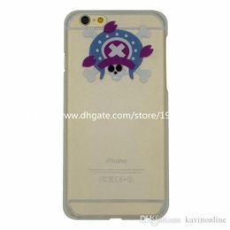 Cas transparents pour iphone 4s à vendre-Étui pour Iphone 6 Squelette design coloré dessin PC pour iPhone 4s 5s 5c 6G 6 Plus Étuis pour téléphone cellulaire 100 pièces Lot DHL