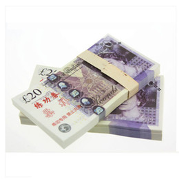 Wholesale UK Pound BANKNOTES GDP Bank Staff Training Collect Learning Banknotes New Arts Gifts