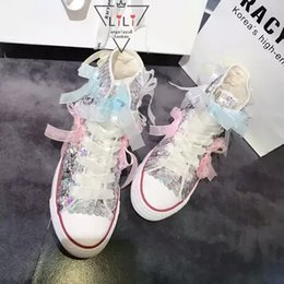 2016 new hand-sewn tide brand special hand slippery pieces tassel high to help increase the canvas shoes