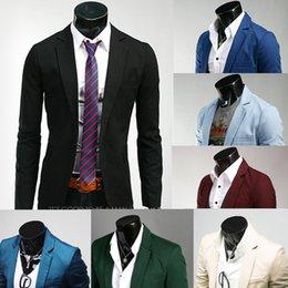 Wholesale New Fasion Blazer Men Special Single Button Multicolor Classic Casual Men s Suit Jacket Mens Blazer M XXL