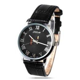 2017 bracelet en cuir véritable Prestige quartz Montres Hommes de haute qualité montre étanche cuir véritable Bracelet en affaires Montres-bracelets bracelet en cuir véritable ventes