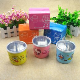 Wholesale maternal and child supplies stainless steel heat insulated cup to prevent baby Prevent the baby from scald