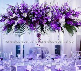 hot classical wedding flower stand centerpieces