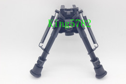 """6""""-9"""" Harris Style Tactical Bipod 5 Levels Adjustable Spring Loaded Legs Heavy Duty Bipod"""