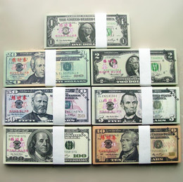 Wholesale USA Dollars BANKNOTES Bank Staff Training Collect Learning Banknotes Arts Gifts Home Arts Crafts