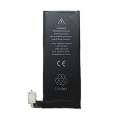 For iphone 4 4G 3.7V 1420mah Best Quality neutral & Original Zero cycle AAA+ li-ion Battery Replacement & Free Shipping