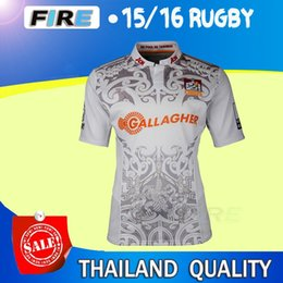 Wholesale 2016 All blacks rugby jerseys Best Quality Chiefs Australia Leeds rhinos Stormers America queensland cowboys USA super rugby shirt jersey