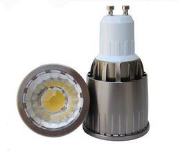 Wholesale price Super Bright E27GU10 MR16 GU5.3 5W 7W 10W COB LED Spotlight Bulbs Light Dimmable Led Warm Cool White 85-265V 12V