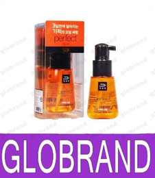 Wholesale Korea Amore Rose Olives Honey Protect Hair Oil Damage care Perfect Serum hair mask hair conditioner moisturizing repair ML G0L193