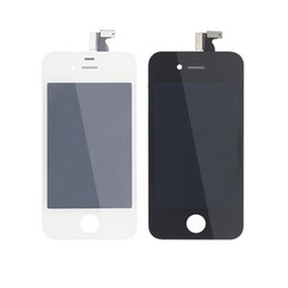 Original LCD Screens for iPhone 4 High Quality Resistive LCD Display Touch Screen for iPhone 4 Repair Parts