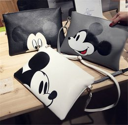 Acheter en ligne Mickey bourse-New Fashion Women Mickey Sac à main Sac à bandoulière Sac à main Messenger Messenger Hobo Bag