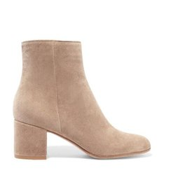 Wholesale Free ship popular brand new GR light pink suede ankle boots women fashion boots high heels women boots