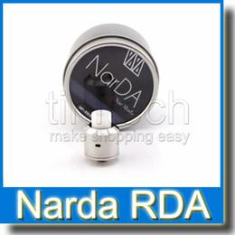 Acheter en ligne Conseils pour e cig-Vaporisateur Narda Rda Atomiseurs Clone Drip Tip Isolateurs PEEK Double Post Design Facile à piéger les fils de bobine Fit Vape Mods e Cigs
