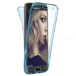 Case For Samsung Galaxy S3 S4 S5 S6 S6 Edge S7 Edge J3 J5 J7 Front Back Shockproof 360 Full Protective Clear Gel Silicon Luxury Phone Cover